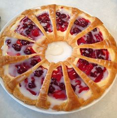 Our Hobby House: Christmas Breakfast Pastry Ring