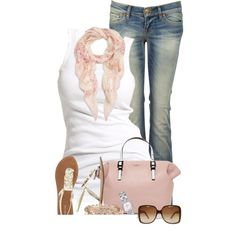 pops of pale pink