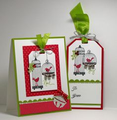 One of my all time favorite stamp sets now used for a Christmas card. Love it!