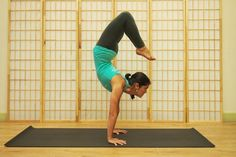 Scorpion: How To Finally Nail The Hardest Yoga Pose  (using smaller steps first!)