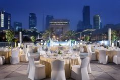 Jumeirah Emirates Towers Hotel, Dubai - Mosaico Terrace, weddings