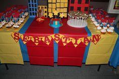 Super Hero Batman, spiderman Superman, Larry boy Birthday Party Ideas | Photo 10 of 15