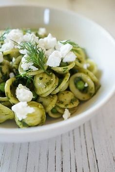 Pesto & Pea Pasta recipe
