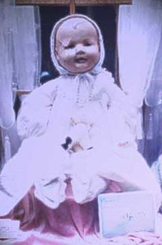 Mandy the haunted doll.    REAL HAUNTED DOLLS: A haunted doll story Haunted America Tours.com