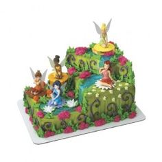 fairy cakes, friends, birthday parties, disney fairies, birthdays, tinker bell, fairy birthday, birthday cakes, cake toppers