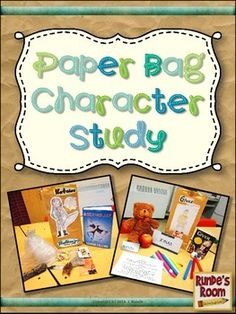 Paper Bag Character Study - fresh new update and revisions.