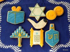 cute hanukkah cookies!