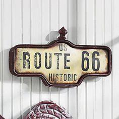 ........ wall art, wood sign, homey stuff, romant idea, art idea, rout 66, route 66, 66 sign, live room