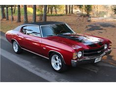 '71 Chevrolet Chevelle! Whether you're interested in restoring an old classic car or you just need to get your family's reliable transportation looking good after an accident, B & B Collision Corp in Royal Oak, MI is the company for you! Call (248) 543-2929 or visit our website www.bandbcollisioncorp.net for more information!