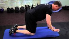 StreamFIT Minute: Mike Robertson Shows You How to Get on All Fours for a Better Core - YouTube