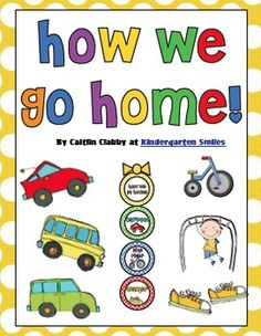 How We Go Home-Polka Dot Pack (Primary Colors)...getting ready for next year :)