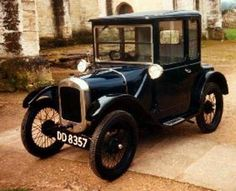 Austin Doctors Coupe - I love the split windscreen