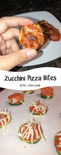 A quick keto, low-carb meal you can whip up in 15 minutes. Zucchini Pizza Bites are perfect for a quick snack, or for lunch!