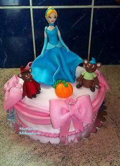sweetscandiesand cake, characterthem cake, cinderella cake, cake toon, kid cake