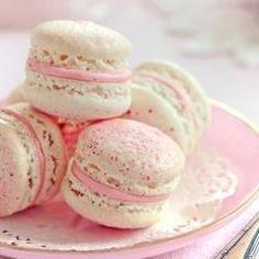 cake, macaron, cherri blossom, food, pink, cherries, macaroons, dessert, cherry blossoms