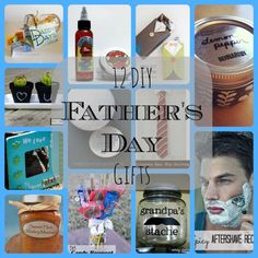 Oh, just in time!! DIY Father's Day Gift Guide