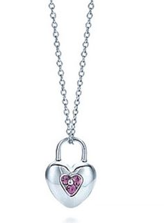 Tiffany & Co Outlet Necklaces The Key To A Transparent Pink [ tn-48] - $52.99 : Tiffany Outlet