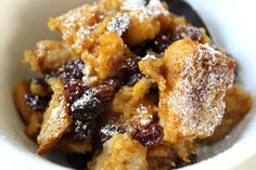 Dairy-Free Pumpkin Bread Pudding