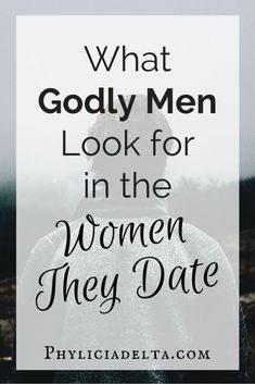 What Godly Men Look