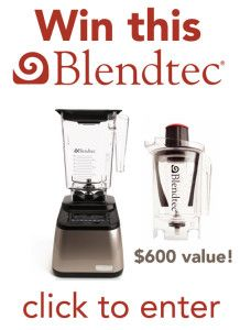 The Food Lovers Kitchen Blendtec Giveaway!