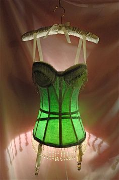 Cute tramp lamp...