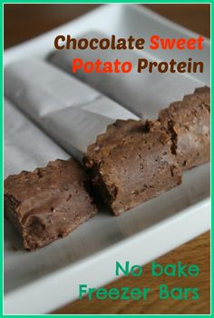 A new Protein bar recipe to help me through the very restrictive Candida Diet. This one is a No Bake Chocolate Sweet Potato Protein bar that you can eat straight out of the freezer. There is no added sugar, wheat, grains or dairy. Made from left-over roasted sweet potatoes, hemp hearts, Vega-one chocolate protein powder, walnuts and some other clean and compliant ingredients. These are also great if you are trying to eat Paleo, Wheat-Belly, low-carb or just Clean!