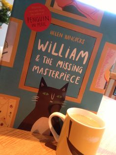 William and the Missing Masterpiece by Helen Hancocks #picturebook #illustration