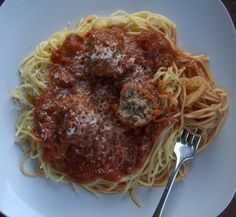 Meatballs and Spaghetti - 365 Days of Baking