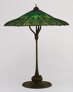 Tiffany--Mandarin (Lotus) Lamp