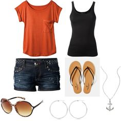 """""""Summer outfit"""" by april2787 on Polyvore"""