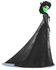 Elsaba..... This is perfect on so many levels.  Best Frozen/Wicked crossover I've seen yet!