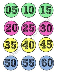 Clock Labels FREEBIE! from O-H So Blessed on TeachersNotebook.com -  (3 pages)  - clock labels