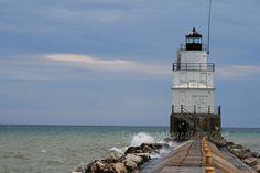 lighthous adventur, wisconsin lighthous, manitowoc breakwat, lighthouses, breakwat lighthous