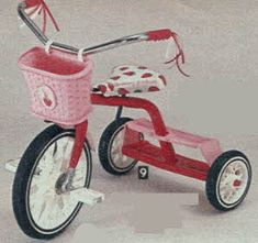Strawberry shortcake tricycle