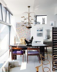 Allan Schwartzman's New York apartment.