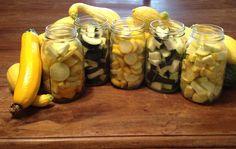 Canning Summer Squash  Zucchini www.CarolinaFoodS...