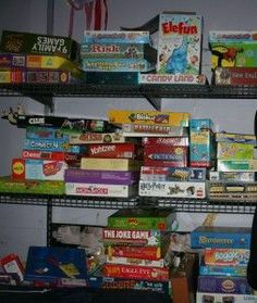 Game night, anyone? List of games for three age groups: Preschool Games (no reading required), Young School-Aged children (but still fun for older kids/adults!), & Older Elementary-aged children to adult