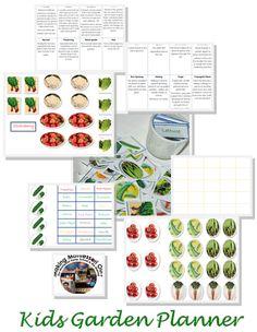 """""""Making Montessori Ours"""": Kids Garden Planner & Unit"""