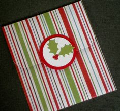 Gift Card Holder - Christmas