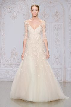 Monique Lhuillier Fall 2015 Bridal Collection | 100 Layer Cake