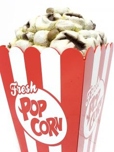 how to make a giant popcorn box
