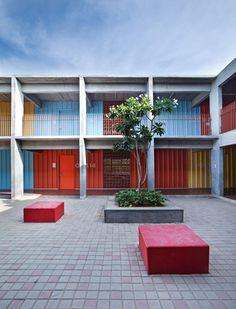 DPS Kindergarten by Khosla Associates | architecture | dezeen