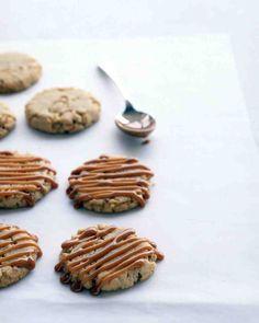 Cashew-Caramel Cookies Recipe