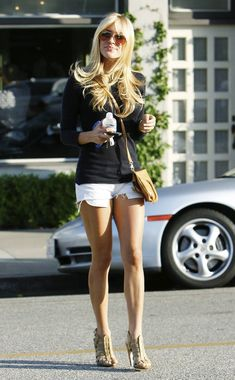love her shorts!
