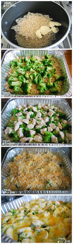 Cheesy Chicken and Broccoli Casserole with Country Crock