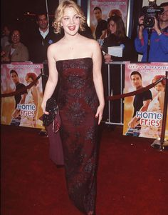 Drew Barrymore's Red Carpet Evolution - 1998