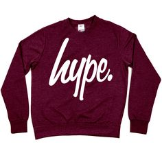 HYPE. Clothing — HYPE.MAROON CREW