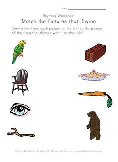 kindergarten phonics on pinterest worksheets phonics worksheets and rhyming words. Black Bedroom Furniture Sets. Home Design Ideas