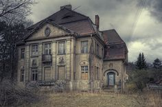 Lost Villa W. - Germany   It really is sad; these beautiful old mansions deteriorating.  Makes me wonder who the people were that left it and why...