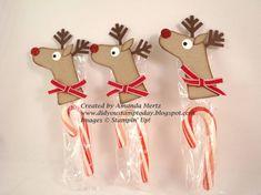 Stocking Punch Reindeer